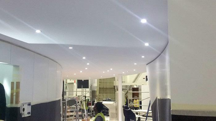 Gypsum Ceiling Work In Trade Center Dubai