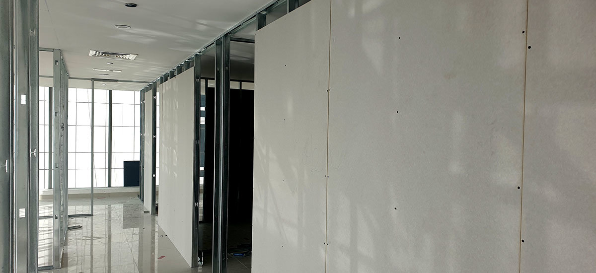 Professional Gypsum partition contractor- Gypsum Partition & Ceiling